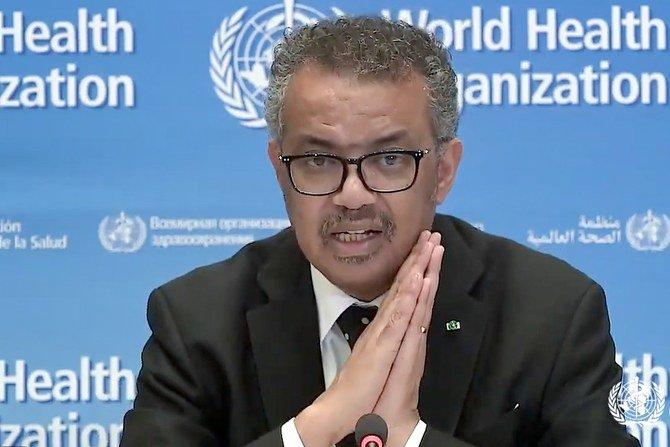 منظمة الصحة العالمية تشكر السعودية على التبرع بـ 500 مليون دولار لمكافحة فيروس كورونا