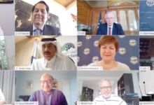 Photo of مجموعة البنك الإسلامي للتنمية تستضيف اجتماعًا افتراضيًا لمناقشة استجابة COVID-19