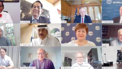 صورة مجموعة البنك الإسلامي للتنمية تستضيف اجتماعًا افتراضيًا لمناقشة استجابة COVID-19