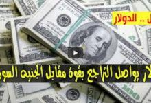 سعر الدولار في السودان وأسعار العملات الجنبية مقابل الجنيه السوداني صباح اليوم السبت 27 يونيو 2020 من السوق السوداء