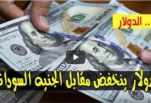 صورة هبوط أسعار الدولار واسعار العملات الاجنبية مقابل الجنيه السوداني صباح اليوم الاثنين 22 يونيو 2020 في السوق السوداء