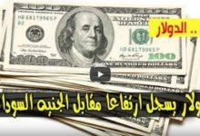 Photo of ارتفاع سعر الدولار اسعار العملات مقابل الجنيه السوداني اليوم الثلاثاء 7 يوليو 2020 من السوق السوداء