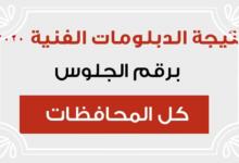 صورة وزارة التربية والتعليم اعلان نتيجة الدبلومات الفنية 2020