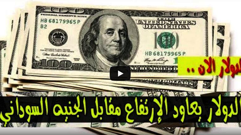 سعر الدولار في السودان اليوم الثلاثاء 24 اغسطس 2020اسعار العملات الاجنبية مقابل الجنيه السوداني من السوق السوداء