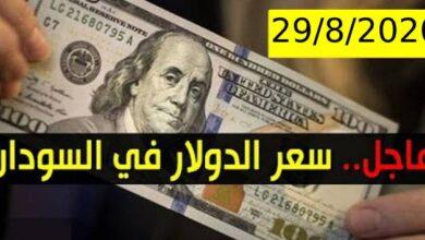 صورة تذبذب سعر الدولار في السودان اليوم السبت 29 اغسطس 2020 اسعار العملات الاجنبية مقابل الجنيه السوداني من السوق السوداء