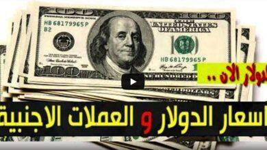 سعر الدولار اليوم الجمعة