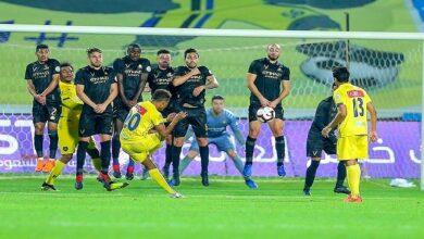 شكيلة مباراة النصر والتعاون