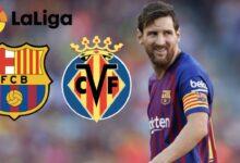 بث مباشر مشاهدة مباراة برشلونة وفياريال
