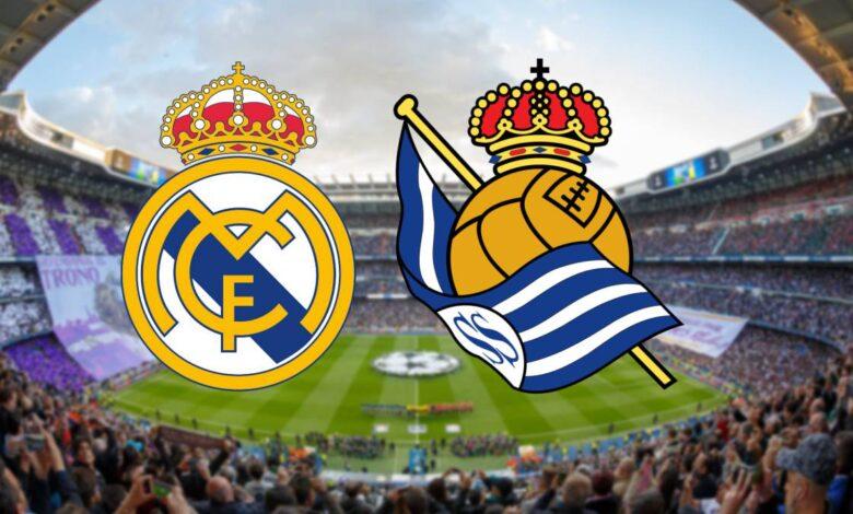 موعد مباراة ريال مدريد وريال سوسيداد