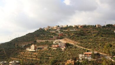صورة انفجار في مخزن أسلحة تابع لحزب الله في جنوب لبنان
