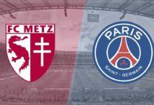موعد مباراة باريس سان جيرمان وميتز