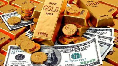 تراجع سعر جرام الذهب والدولار بعد حالة الطوارئ الاقتصادية