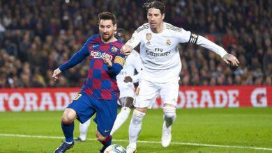 """صورة موعد مباراة ريال مدريد وبرشلونة """"الكلاسيكو"""" اليوم السبت 24-10-2020 في الدوري الإسباني"""