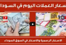 Photo of سعر الدولار وأسعار العملات الأجنبية مقابل الجنيه السوداني اليوم الخميس 22/10/2020 في السوق السوداء