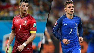 صورة القنوات الناقلة لمباراة البرتغال وفرنسا اليوم في دوري الأمم الأوروبية