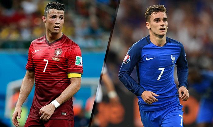 القنوات الناقلة لمباراة البرتغال وفرنسا
