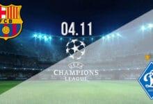 بث مباشر مباراة برشلونة ودينامو