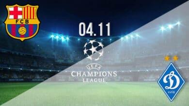 صورة بث مباشر مباراة برشلونة ودينامو كييف اليوم الأربعاء بدوري أبطال أوروبا