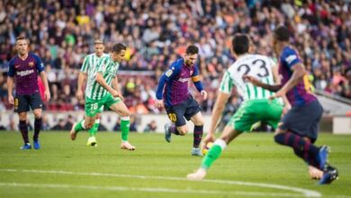 موعد مباراة برشلونة وريال بيتيس