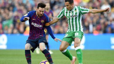 تشكيلة مباراة برشلونة