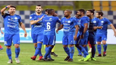 مباراة حتا والنصر الإماراتي