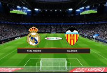 صورة بث مباشر مشاهدة مباراة ريال مدريد وفالنسيا اليوم الأحد في الدوري الإسباني