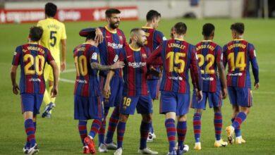 معلق مباراة برشلونة ودينامو كييف