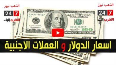 سعر الدولار الآن والعملات الأجنبية
