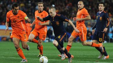 موعد مباراة إسبانيا وهولندا