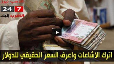 صورة سعر الدولار الان وأسعار العملات الاجنبية مقابل الجنيه السوداني اليوم الإثنين 16 نوفمبر 2020 في السوق السوداء