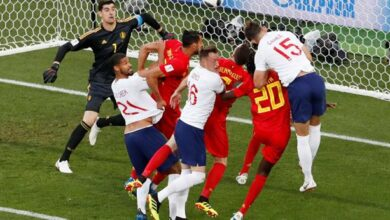 صورة بث مباشر.. مشاهدة مباراة انجلترا وبلجيكا اليوم الاحد في دوري الأمم الأوروبية
