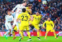 موعد مباراة ريال مدريد وفياريال