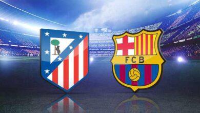 صورة تشكيلة برشلونة ضد أتلتيكو مدريد المتوقعة في الدوري الإسباني اليوم السبت