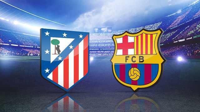 تشكيلة برشلونة ضد أتلتيكو مدريد