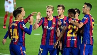 صورة تشكيلة مباراة برشلونة ضد دينامو كييف اليوم الثلاثاء في دوري أبطال أوروبا