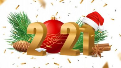صورة تهنئة رسمية بالعام الجديد 2021.. أجمل بطاقات تهنئة رأس السنة 2021 للأهل والاصدقاء