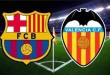 تشكيلة مباراة برشلونة المتوقعة ضد فالنسيا
