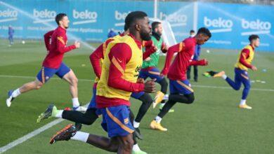 صورة تشكيلة برشلونة ضد فالنسا: تشهد عودة أرناو تيناس وجونيور فيربو