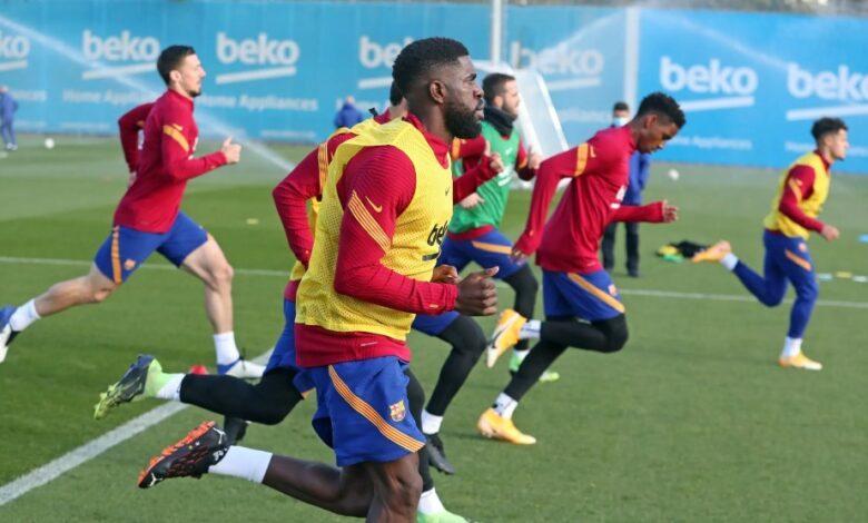 تشكيلة برشلونة ضد فالنسا