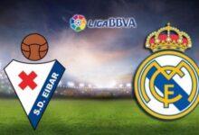 موعد مباراة ريال مدريد وإيبار