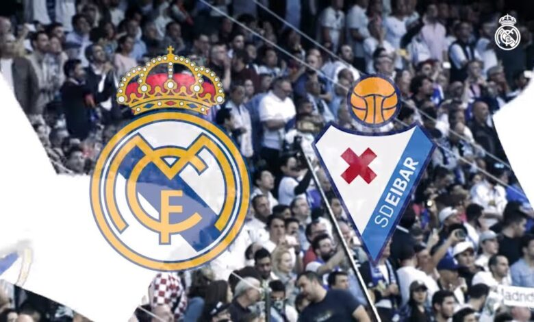 تشكيلة ريال مدريد في مباراة اليوم ضد إيبار