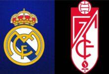 الموعد والقنوات الناقلة لمباراة ريال مدريد وغرناطة