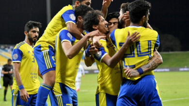 صورة موعد مباراة الظفرة والنصر فى دوري الخليج العربى الإماراتى والقنوات الناقلة