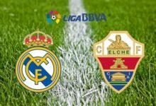 تشكيلة ريال مدريد المتوقعة في مباراة اليوم ضد إلتشي