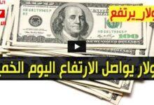 عودة إرتفاع سعر الدولار