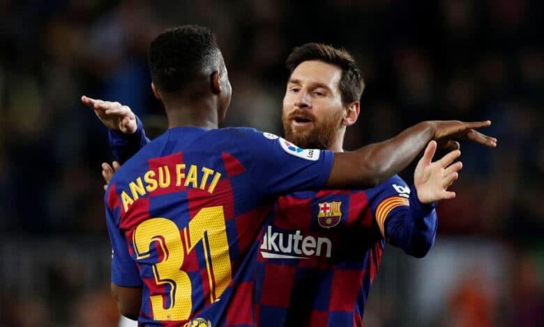 تشكيلة مباراة برشلونة اليوم المتوقعة ضد ليفاتي