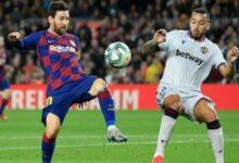 معلق مباراة برشلونة وليفانتي اليوم
