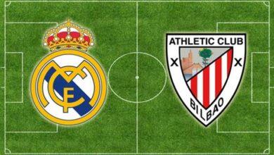 صورة موعد مباراة ريال مدريد وأتلتيك بلباو في الدوري الإسباني والقنوات الناقلة