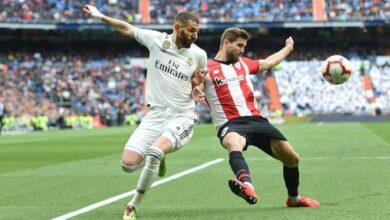 معلق مباراة ريال مدريد القادمة أمام أتلتيك بلباو