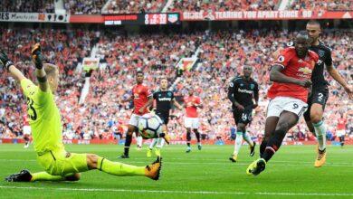 صورة القنوات الناقلة لمباراة مانشستر يونايتد ووست هام يونايتد في الدوري الإنجليزي